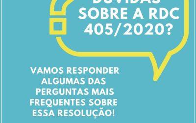 SAIBA MAIS SOBRE A RDC 405/2020
