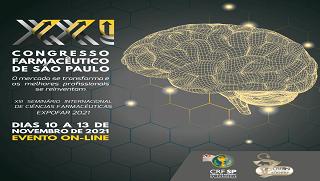 Participe do XXI Congresso Farmacêutico de São Paulo