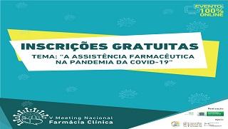 Participe da 5ª edição do Meeting Nacional de Farmácia Clínica